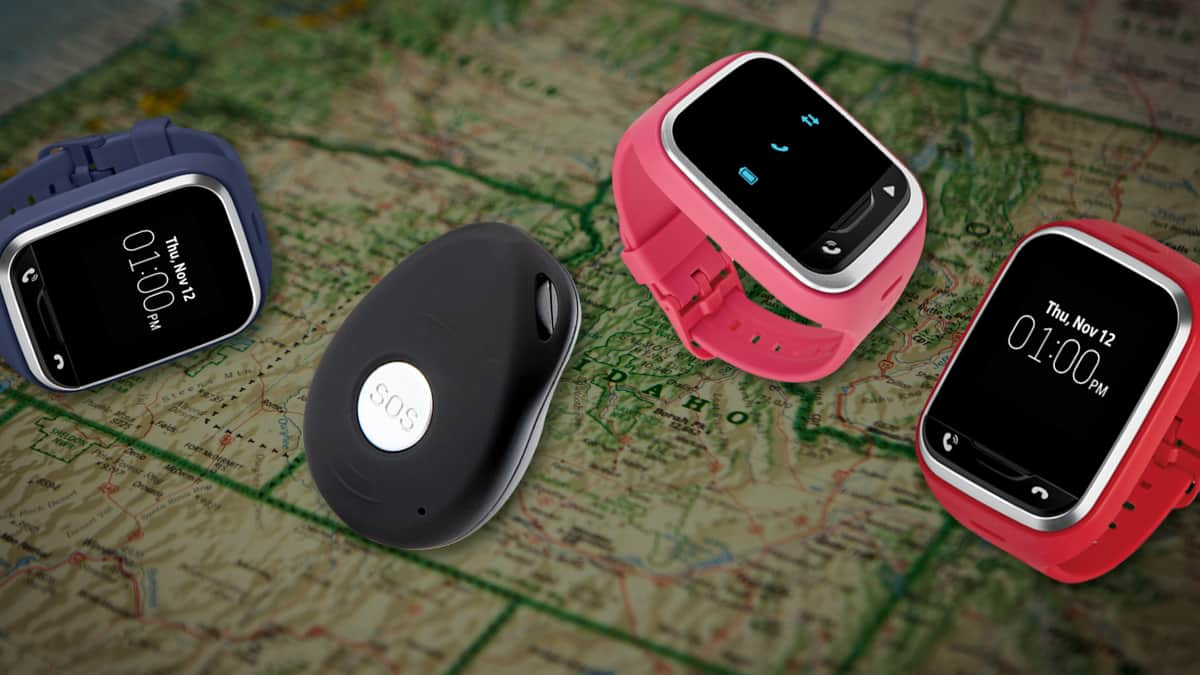 Intelligent GPS Watches & Tags for your kids